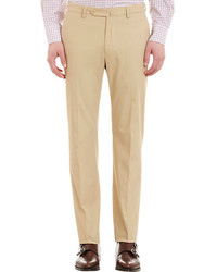 Incotex Flat Front Trousers