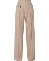 Max Mara Kenia Wool Twill Wide Leg Pants