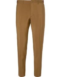 Prada Slim Fit Mohair And Wool Blend Trousers