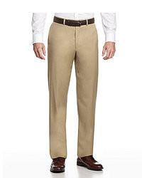 Hart Schaffner Marx Tailored Flat Front Dress Pants