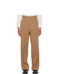 Jil Sander Tan Calvary Trousers