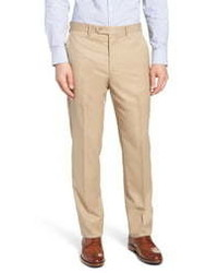 John W. Nordstrom Torino Classic Fit Solid Dress Pants