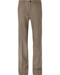 Prada Virgin Wool Tweed Trousers