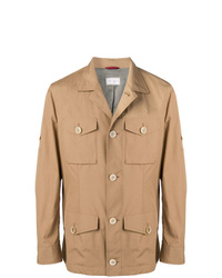 Brunello Cucinelli Buttoned Safari Jacket