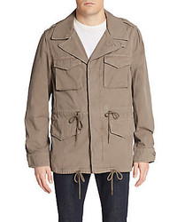 Saks Fifth Avenue Cotton Field Jacket
