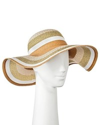 Merona Floppy Hat Striped