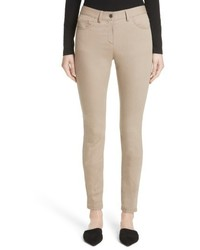 St. John Collection Slim Stretch Crop Jeans