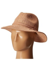 San Diego Hat Company Cth8078 Knit Fedora With Braided Faux Suede Fedora Hats