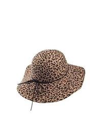 Failsworth hats leopard floppy hat leopard medium 122683