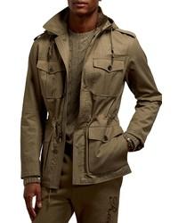 Ralph Lauren Purple Label Hartridge Water Repellent Jacket With Removable Hood