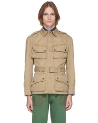 Polo Ralph Lauren Khaki Twill Field Jacket