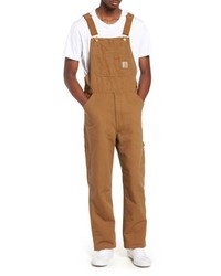 CARHARTT WORK IN PROGRESS Canvas Bib Overalls