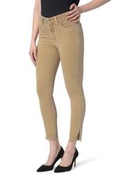 NYDJ Ami Frayed Hem Stretch Skinny Ankle Jeans