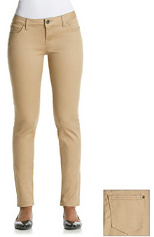 so cheap free delivery nice shoes Celebrity Pink Khaki Stretch Sateen Skinny Jeans