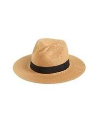 Khaki Straw Hat