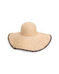 L-Space Beth Wide Brim Straw Hat