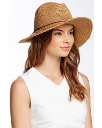Free Press Raffia Straw Panama Hat