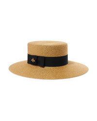 Gucci Med Glittered Straw Hat