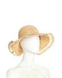 Michael Stars Michl Stars Straw Hat With Rock Tassel Trim