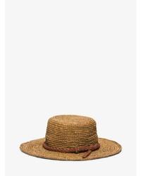 Michael Kors Michl Kors Santorini Raffia Straw Hat