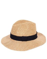 PDS Online Straw Hatcap With Black Band