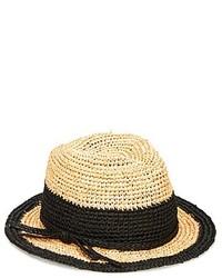 San Diego Hat Company Raffia Floppy Fedora