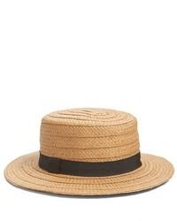 Treasure & Bond Straw Boater Hat