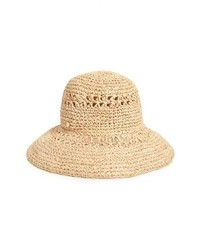BCBGMAXAZRIA Straw Bucket Hat