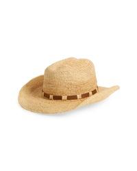 Frye Straw Cowboy Hat
