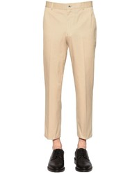 Thom Browne Skinny Cotton Chino Twill Pants