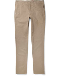 Aspesi Slim Fit Cotton Twill Chinos