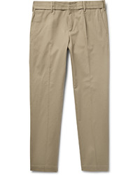 Dolce & Gabbana Slim Fit Stretch Cotton Twill Trousers