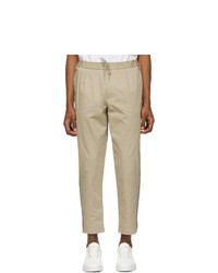 Moncler Tan Sportivo Trousers