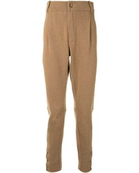 Dolce & Gabbana Pleat Detailing Wool Trousers