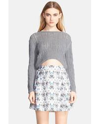 Knit cropped sweater original 4672391