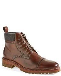 Leather brogue boots original 6703439