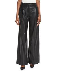 Leather wide leg pants original 10380185