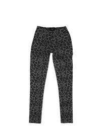Leggings de leopardo en gris oscuro