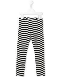 Leggings de rayas horizontales blancos de Fendi