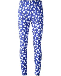 Leggings estampados azules