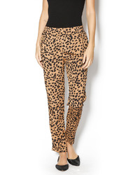 Leopard tapered pants original 10597524