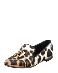 Leopard tassel loafers original 4128710