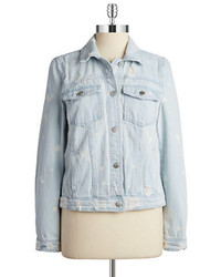 Tinsel distressed denim jacket medium 224780