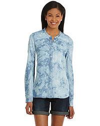 Calvin Klein Jeans Trapeze Denim Shirt