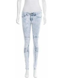 Rag & Bone Acid Wash Skinny Jeans W Tags