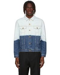 Études Blue Kentucky Bleached Denim Jacket