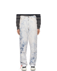 Light Blue Acid Wash Jeans