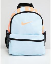 Nike Blue Just Do It Logo Mini Backpack