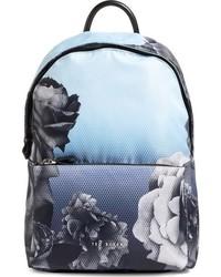 London mono rose backpack blue medium 784841