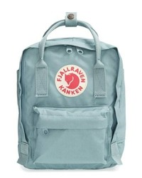 FjallRaven Mini Kanken Water Resistant Backpack Blue